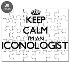 Keep calm I'm an Iconologist Puzzle