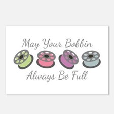 May Your Bobbin Always Be Full Postcards (Package