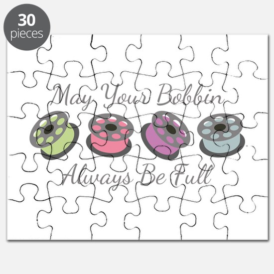 May Your Bobbin Always Be Full Puzzle