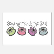 Sewing Mends The Soul Postcards (Package of 8)