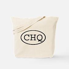 CHQ Oval Tote Bag