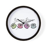 Sewing Wall Clocks