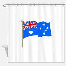 Australia Flag Shower Curtain