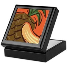 Tropical Fruit Keepsake Box