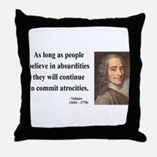 Voltaire 2 Throw Pillow
