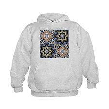 mosaic GEOMETRIC PATTERN Hoodie