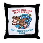 July 4th (2) Throw Pillow