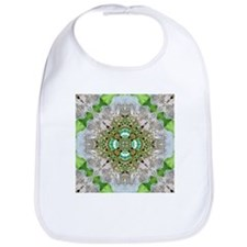 green diamond bling Bib