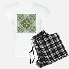 green diamond bling Pajamas