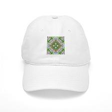 green diamond bling Baseball Cap