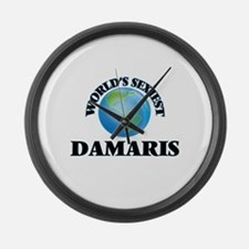 World's Sexiest Damaris Large Wall Clock