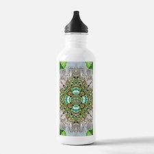 green diamond bling Water Bottle