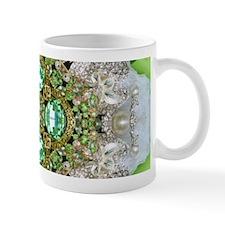 green diamond bling Mugs
