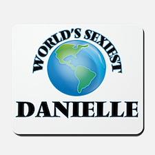 World's Sexiest Danielle Mousepad