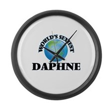 World's Sexiest Daphne Large Wall Clock