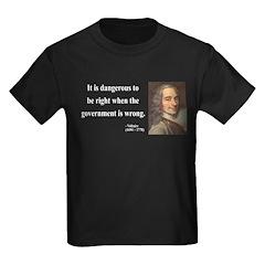 Voltaire 3 Kids Dark T-Shirt