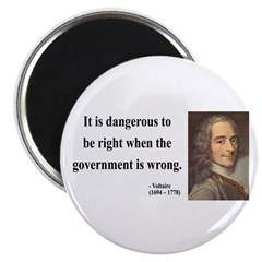 """Voltaire 3 2.25"""" Magnet (10 pack)"""