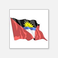 Antigua Flag Sticker