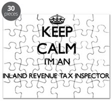 Keep calm I'm an Inland Revenue Tax Inspect Puzzle