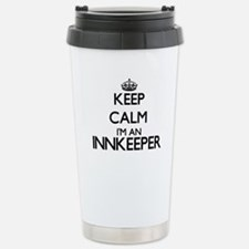 Keep calm I'm an Innkee Travel Mug