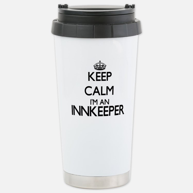 Keep calm I'm an Innkee Travel Mug