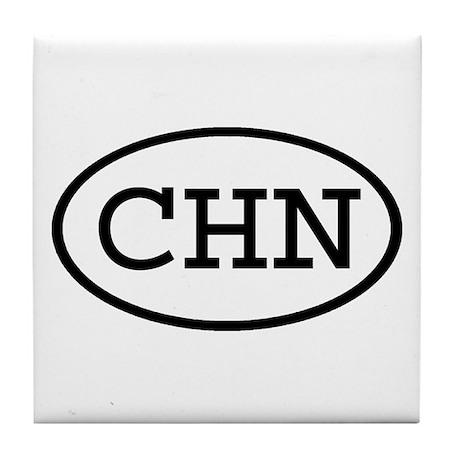 CHN Oval Tile Coaster