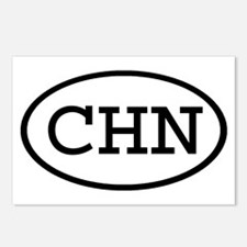 CHN Oval Postcards (Package of 8)
