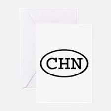 CHN Oval Greeting Cards (Pk of 10)
