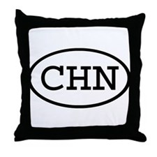 CHN Oval Throw Pillow