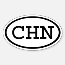 CHN Oval Oval Decal