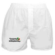 Everyone Loves an Ethiopian Boy Boxer Shorts