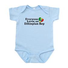 Everyone Loves an Ethiopian Boy Infant Bodysuit