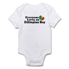 Everyone Loves an Ethiopian Boy Infant Bodysuit
