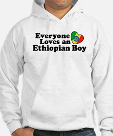 Everyone Loves an Ethiopian Boy Hoodie