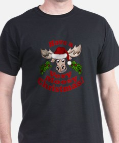 Moosy Christmas T-Shirt