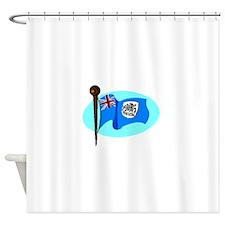Antarctica Flag Shower Curtain