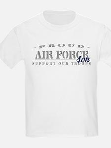 Proud Air Force Son (Blue) T-Shirt