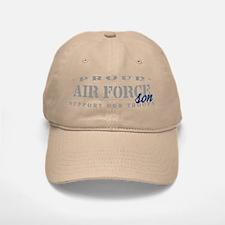 Proud Air Force Son (Blue) Baseball Baseball Cap