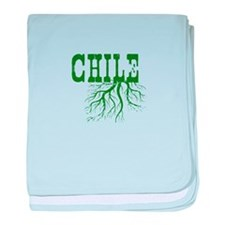 Chile Roots baby blanket
