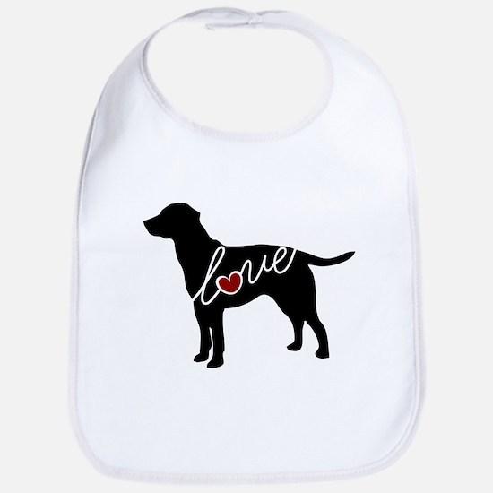 Labrador Love Bib