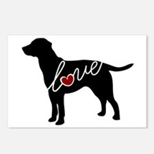 Labrador Love Postcards (Package of 8)