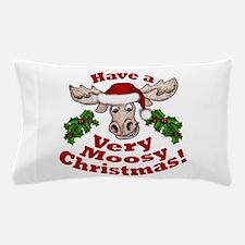 Moosy Christmas Pillow Case