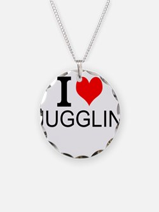 I Love Juggling Necklace