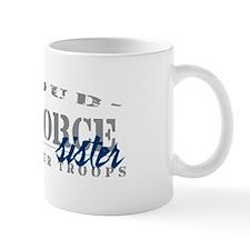 Proud Air Force Sister (Blue) Mug