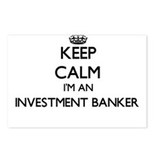 Keep calm I'm an Investme Postcards (Package of 8)