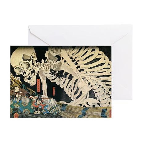 Skeleton Greeting Cards (Pk of 10)