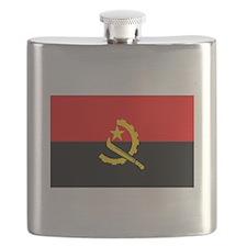 Angola Flag Flask
