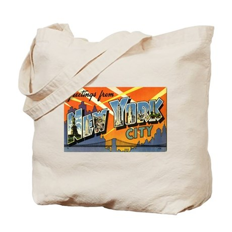 Greetings from NYC Tote Bag