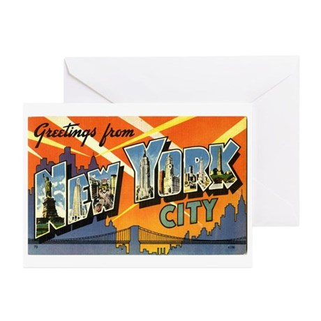 Greetings from NYC Greeting Cards (Pk of 10)
