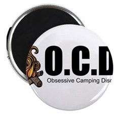 Obsessive Camping Disorder Magnets